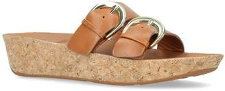 FitFlop Duo-Buckle Slide Sandals