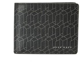 Hugo BossHugo Boss Printed Leather Wallet
