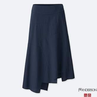 Uniqlo Women's Jwa Linen Cotton Long Flare Skirt