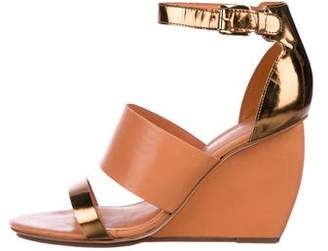 Rebecca Minkoff Leather Ankle Strap Wedges