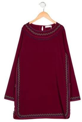Stella McCartney Girls' Scalloped-Trimmed Dress