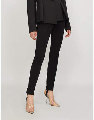 Helmut Lang High-rise skinny stretch-cotton leggings