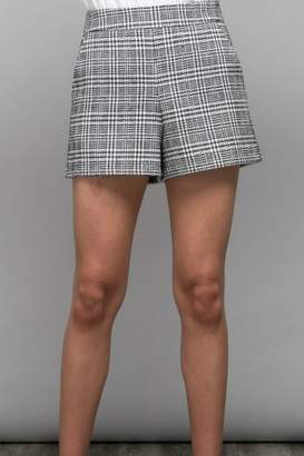 Do & Be Plaid Knit Short