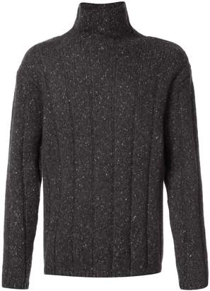 Theory ribbed roll-neck jumper