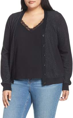 Rachel Roy Presley Button Cardigan