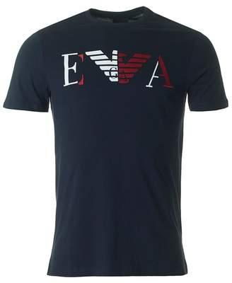 Giorgio Armani Centre Eagle Regular Fit T-shirt