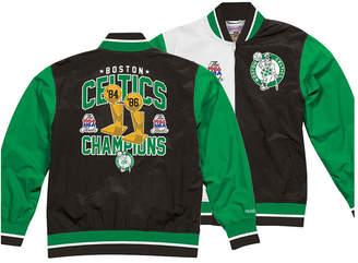 Mitchell & Ness Men Boston Celtics History Warm Up Jacket