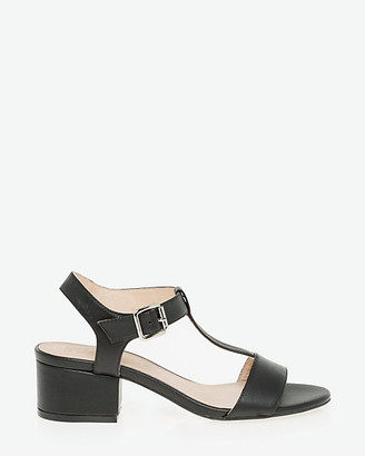 Le Château Leather T-Strap Sandal