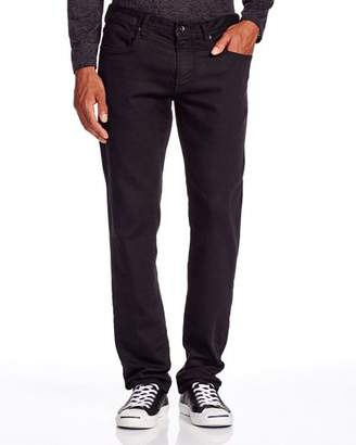 John Varvatos Star USA USA Bowery Straight Fit Jeans in Black