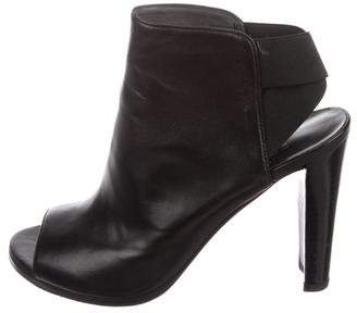 Stuart Weitzman Hereitis Leather Booties
