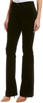 AG Jeans The Janis Super Black High-Rise Flare Leg