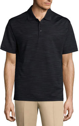 Haggar Short Sleeve Poly Polo Shirt