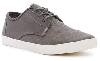Toms Paseo Leather & Canvas Sneaker
