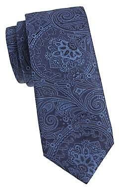 Corneliani Men's Paisley Silk Tie