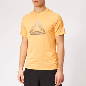 Reebok Men s OSR Reflect Move Running T-Shirt b8dcebc68ed10