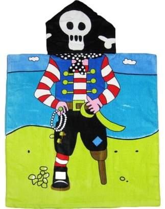Kreative Beach Pirate Hooded Kids Bath Towel