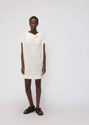 Issey Miyake Short Sleeve Draped Dress