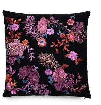 Natori Home Mayon Bohemian Floral Embroidery Pillow