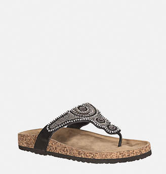 Avenue Angie Beaded Thong Sandal