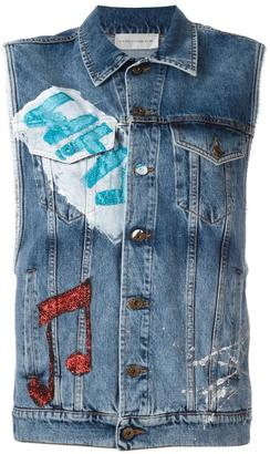 Faith Connexion denim vest $1,062 thestylecure.com