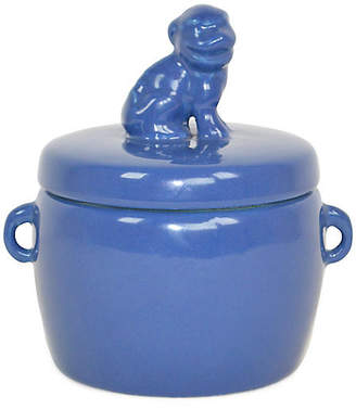 Gardenia Solid Dog-Lid Candle The French Bee