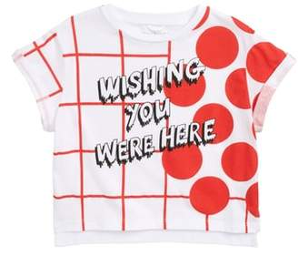Stella McCartney Wishing You Were Here Graphic Tee