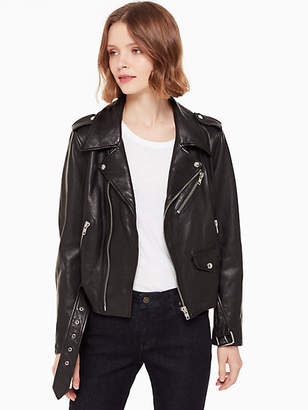 Kate Spade Leather moto jacket