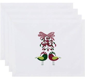 Holiday Essence Love Birds, Animal Print Placemat