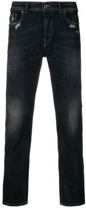 Diesel Black Gold cropped stretch slim-fit jeans