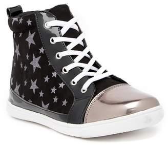 Rachel Star Lace-Up High Top Sneaker (Little Kid & Big Kid)