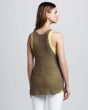 Vince Wide-Stitch Knit Sweater