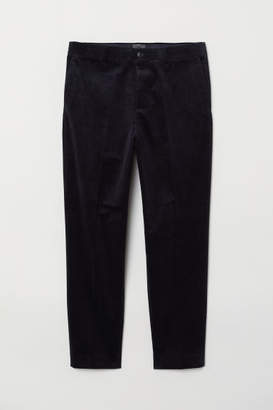 H&M Corduroy Slacks - Blue