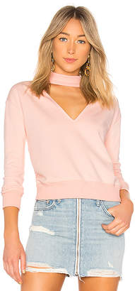 by the way. Ariella Choker Sweatshirt