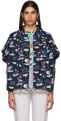 Loewe Black Paulas Ibiza Edition Circus Shirt