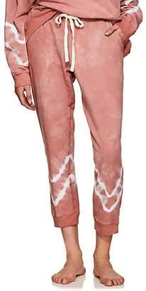 Electric & Rose Women's Kinney Tie-Dyed Fleece Jogger Pants - Pink