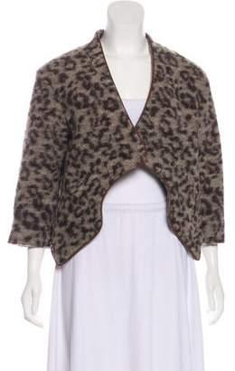 Thakoon Open Front Wool Jacket
