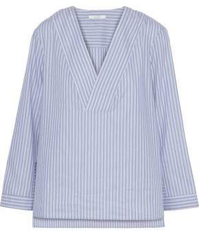 Dagmar House Of Candice Striped Cotton-Poplin Shirt