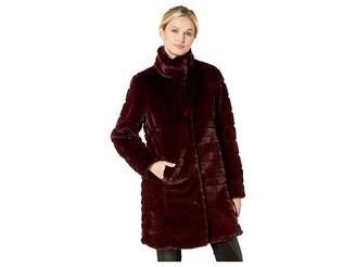 Via Spiga Faux Fur Coat Women's Coat