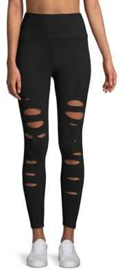 Alo Yoga Ripped Warrior Leggings
