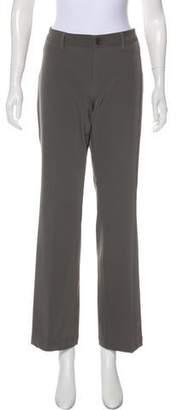 Issey Miyake Mid-Rise Wide-Leg Pants