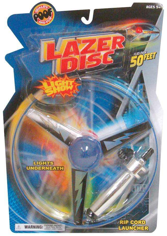 POOF Lazer Disc