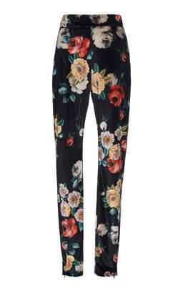 ATTICO Printed Velvet Skinny Pants