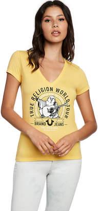 True Religion WORLD TOUR DEEP V TEE