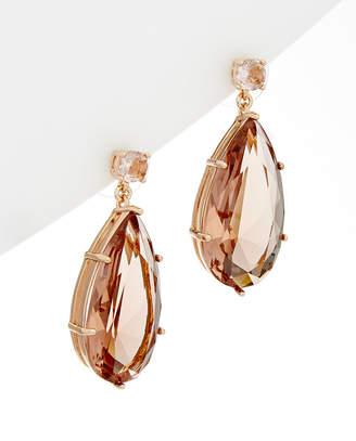 Carolee Glass Stone Earrings