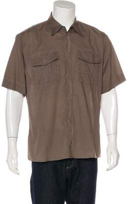 Bottega Veneta Button-Up Woven Shirt