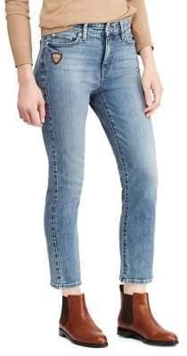 Lauren Ralph Lauren Petite Premier Straight Ankle Jean