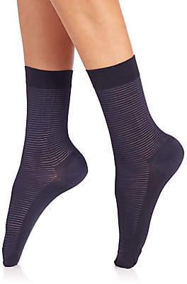 Wolford Women's Striped Socks