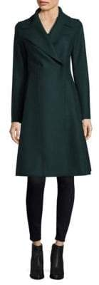 Harris Wharf London Flairy Wool Coat