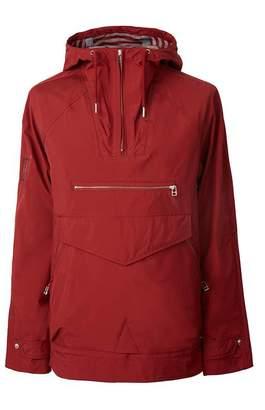 Pretty Green Water Resistant Overhead Hooded Jacket