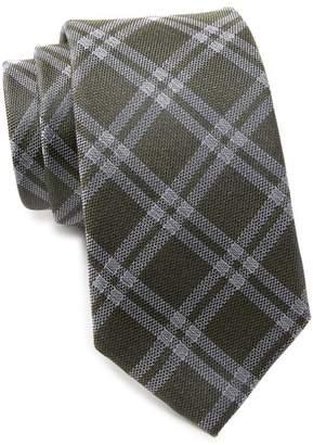 Ben Sherman Kimble Plaid Silk Tie